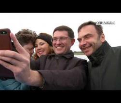"Embedded thumbnail for Фрагмент программы ""Однажды"" на канале НТВ о гастролях в Германии."