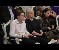 Embedded thumbnail for Вечер Ивана и Ксении Охлобыстиных - Почувствовать несказанное
